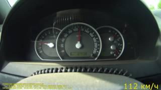 скорость обороты на 110 км-час Kia Sorento