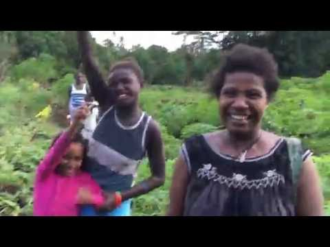 The life in the village, the Solomon Islands
