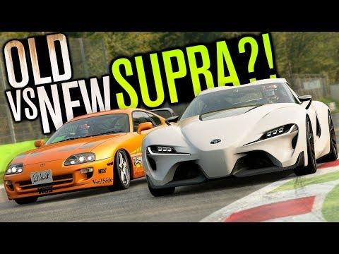 OLD VS NEW TOYOTA SUPRA... IT'S BACK?! | Gran Turismo Sport