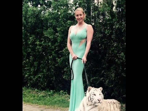Russische Star Volochkova ohne Unterwsche von der Braut