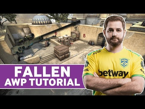 MIBR FalleN CS:GO AWP Tips And Tricks