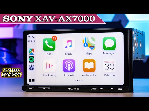 sony-xav-ax7000---review-and-testing-subwoofer-direct-connection,-apple-carplay-and-android-auto!!