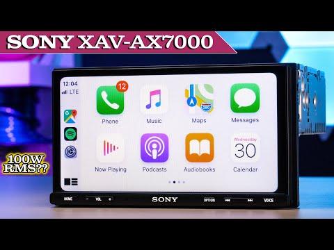 Sony XAV-AX7000 -