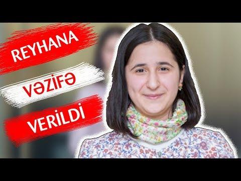 REYHANA VƏZİFƏ VERİLDİ!!! ( dunya xeberler )