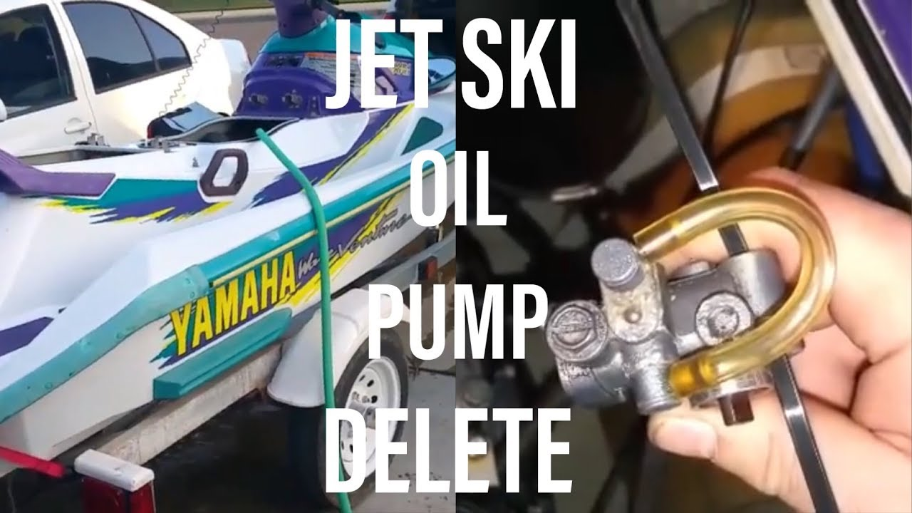 how to bypass your 2 stroke jet ski oil pump using these simple steps go premix [ 1280 x 720 Pixel ]