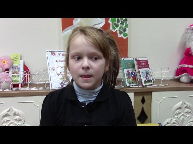 Изображение предпросмотра прочтения – ДианаАхмедшина читает произведение «Крестьянские дети» Н.А.Некрасова