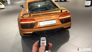 Audi R8 V10 Plus: In Depth, Interior, LED Lights, Virtual Cockpit and more