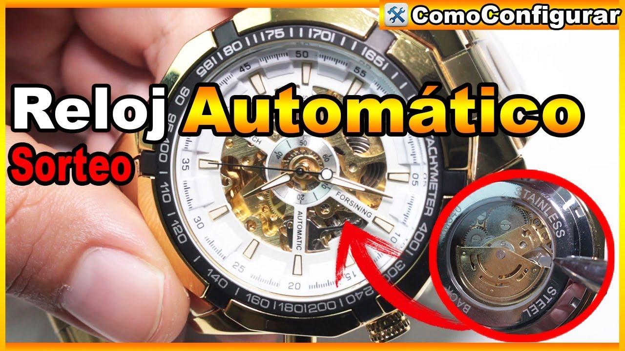 Amazonas venta caliente barato ahorre hasta 60% Relojes Automaticos Baratos en Colombia - Winner F1205158 Automatic Watch