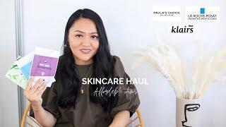 Skincare Haul ⎜Sheet mask, spf, moisturiser and more!