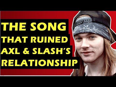 Guns N' Roses: How Sympathy For the Devil Destroyed Axl Rose's & Slash's Relationship