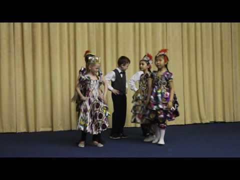 Танец республики узбекистан попытка 1