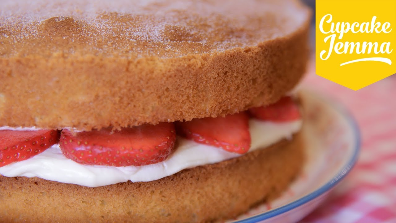 Sandwich Cake Recipe Youtube
