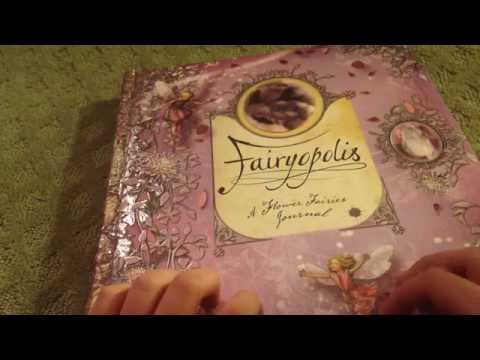 ASMR Fairy Book Page Turning and Tapping