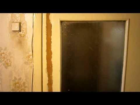 Покраска двери. Реставрация двери. Painting of doors. Restoration of the door.
