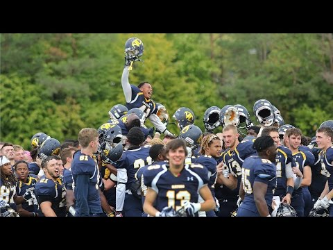 Allegheny Football Highlights vs. Oberlin - Oct. 1, 2016