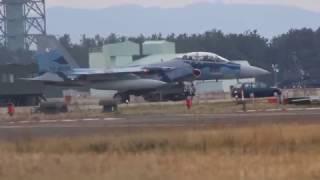 アグレッサー F-15 小松基地離陸 ランウェイ24 Aggressor F-15 Komatsu ...