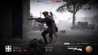Battlefield 1 how to get scope for Martini-Henry Bayonet charge fail&funny
