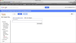 Using Google Groups to Create Web Forum at No Cost