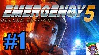 Emergency 5 - Empezando a salvar vidas - Gameplay Español 1080p HD - Parte 1