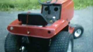Garden Tractor Build