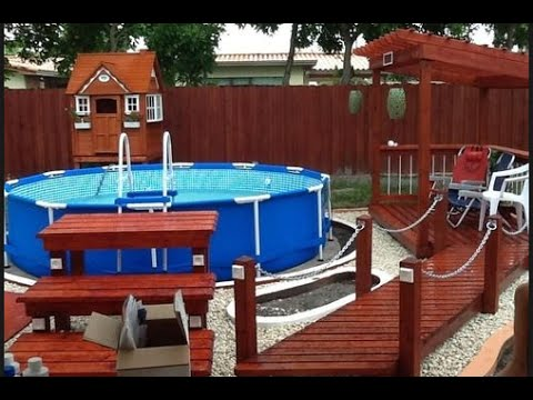 intex 12 foot by 30 inch family size round metal frame pool set review