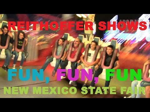 NM State Fair Midway - Reithoffer Shows - #Albuquerque #abq