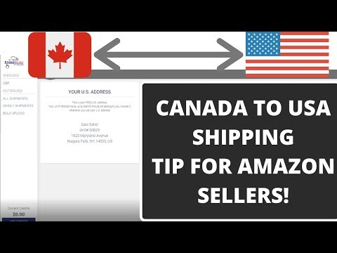 AMAZON CANADA FBA/FBM: HOW TO SHIP PRODUCTS AFFORDABLY FROM CANADA TO USA
