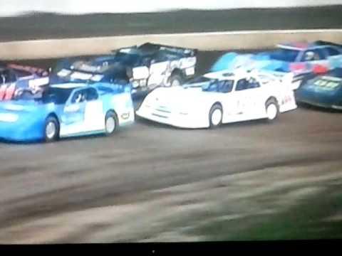 Bedford Speedway 8-26-16 SLM Heat 2...