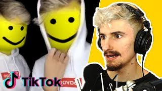 I Reacted to the WEIRDEST VIRAL ROBLOX TIKTOKS..