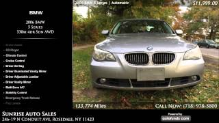 Used 2006 BMW 5 Series | Sunrise Auto Sales, Rosedale, NY