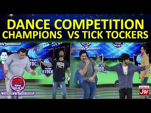 Dance Competition    Game Show Aisay Chalay Ga League   TickTock Vs Champion