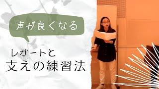 声楽練習 「マリンコニーア」 声楽のレガートを作り方 19年10月3日
