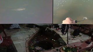 Assam blog Day5(jaysagar tank gopro shots,Dikhu river, Inside shivdol)