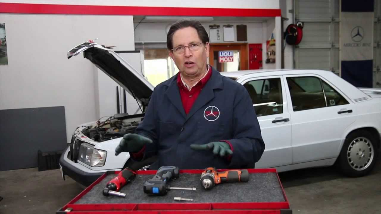 Diy Car Repair Quick Tip 8 The New Breed Of Electric Power Tools Are Great For Working On Cars