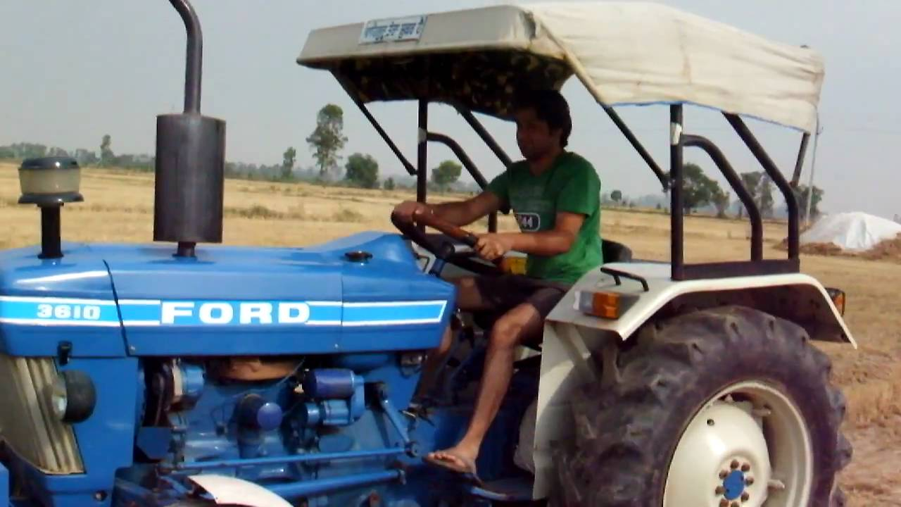 Ford 3610 Tractor : Osum machine ford tractor youtube