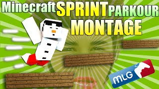 Minecraft Sprint Parkour MONTAGE ! Going Back To The Classics! /w Baki961