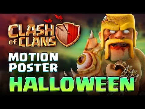 Clash of Clans MOVIE 2016 - HALLOWEEN 3D Motion Poster