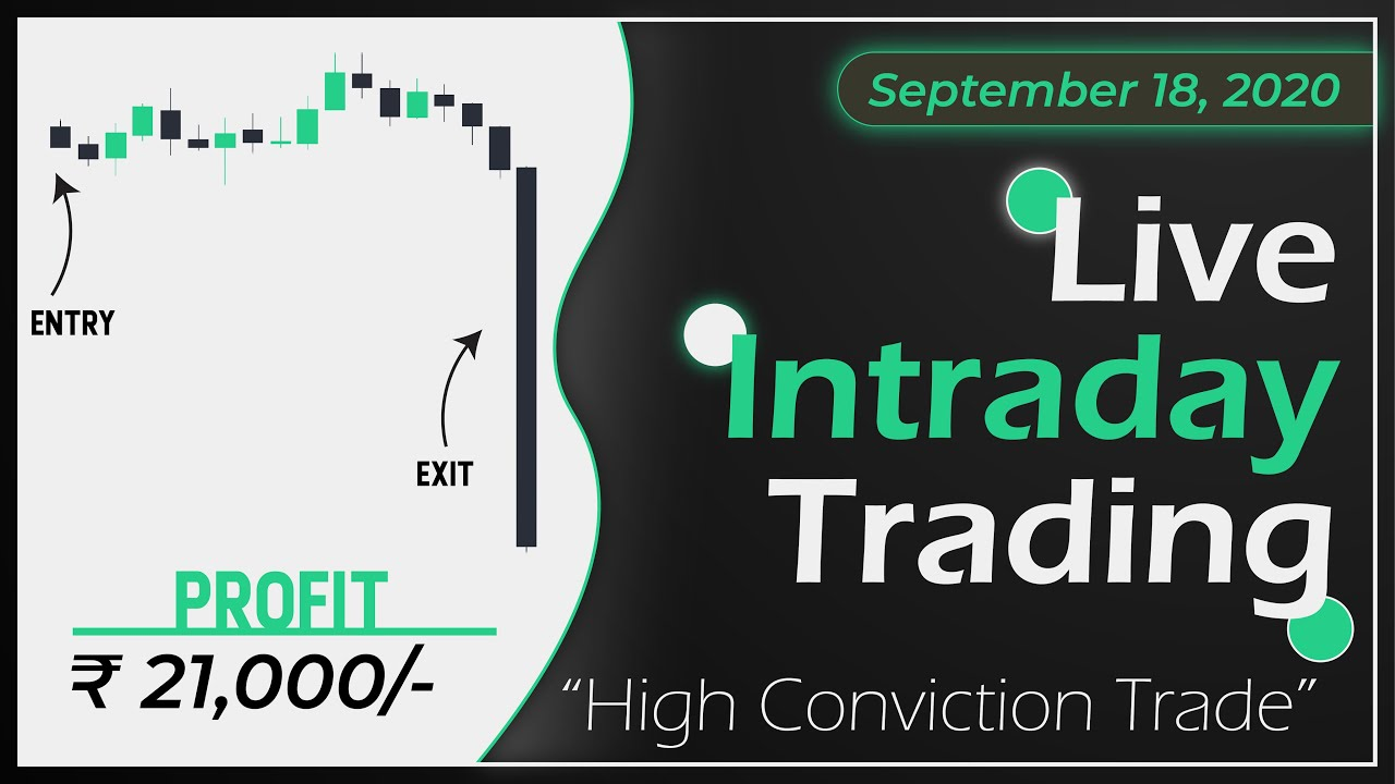 Live Intraday Price Action Trading    VP Financials    18 SEPTEMBER 2020