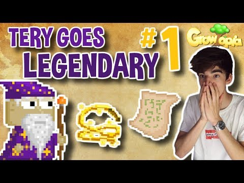 STARTING MY FIRST LEGENDARY QUEST | Tery Goes Legendary #1 | Growtopia