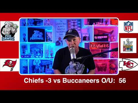 Kansas City Chiefs vs Tampa Bay Buccaneers 2/7/21 Super Bowl LV NFL Pick and Prediction Sunday
