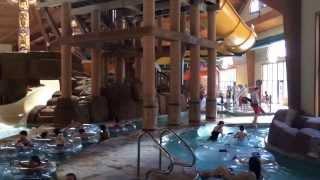 Аквапарк внутри отеля Great Wolf Lounge [Америка с Айфона]