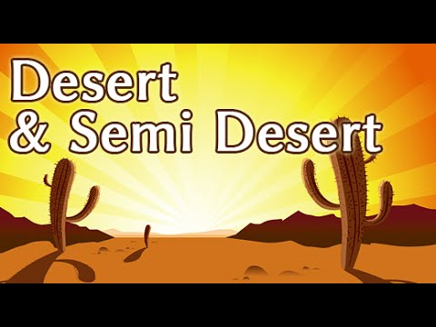 Deserts and the life there | Place from where there is no return | Desert Life | Part 1