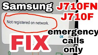 how to solve samsung j7 prime (sm-J701F) emergency calls