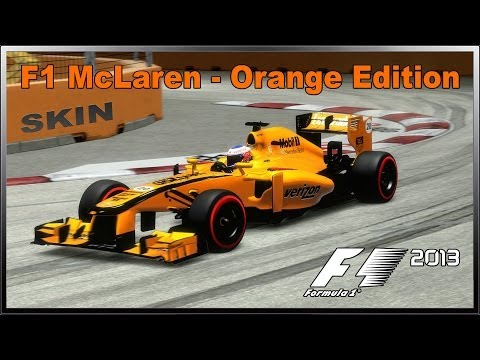 F1 2013 ~ McLaren Mercedes Orange Edition - Skin