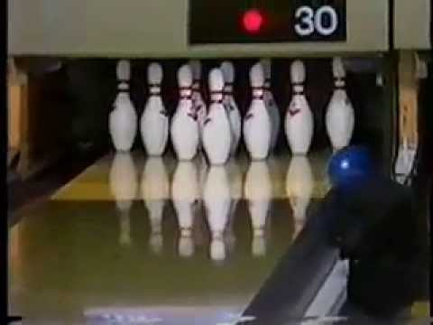 A shocking ending to a PBA title match! Del Ballard vs. Pete Weber Gutter Ball when he knew he won