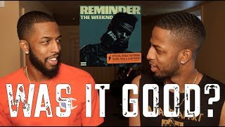"""THE WEEKND """"REMINDER"""" REMIX FT. YOUNG THUG AND A$AP REVIEW AND REACTION #MALLORYBROS 4K"""