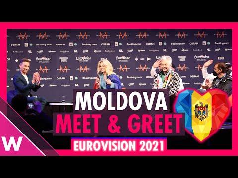 """Moldova Press Conference: Natalia Gordienko """"SUGAR"""" @ Eurovision 2021"""