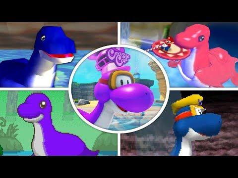 Evolution of Dorrie in Mario Games 1996  2018
