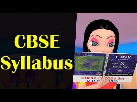 CBSE Syllabus || Happy Sheru || Funny Cartoon Animation || MH One