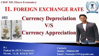 #01 Foreign Exchange Rate | Currency Depreciation & Appreciation | MACRO | CBSE 12